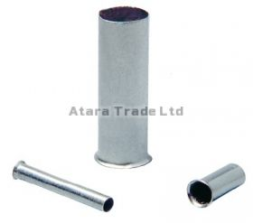 0,25 mm2 (AWG 24) UNINSULATED END SLEEVES / 500 pcs. bag
