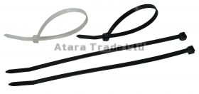 2,6x200 mm CABLE TIES BLACK  - 100 pcs.
